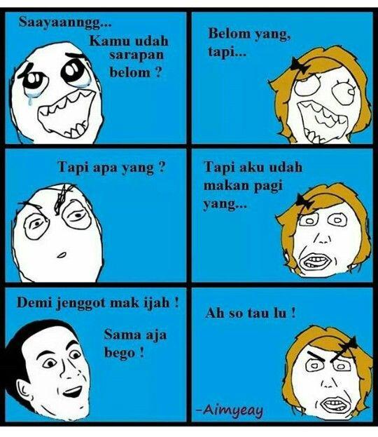 Demi jenggot mak ijah gua betul keles #Memes #Funny #Indonesia