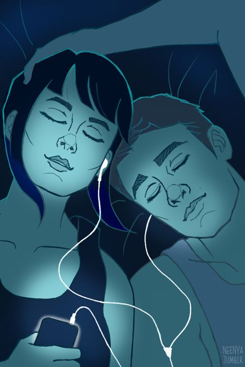 """Listening to music together was maybe one of the best connections you can find outside the Drift,"" Raleigh thought. —Pacific Rim: The Official Movie Novelization (art by neenya)"