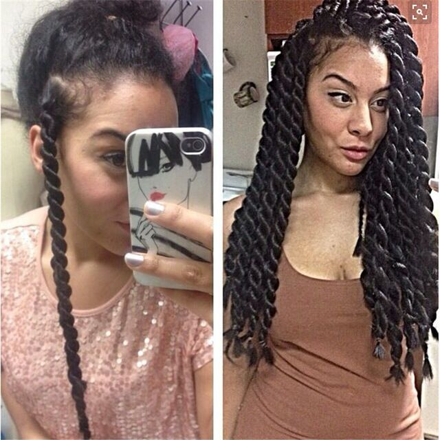 Jumbo Senegalese Twist Google Search Hair Envy In 2018 Styles Natural