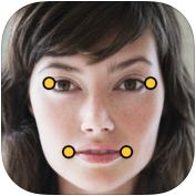 iPad app - Morpho 3-D faces.  Kids can create a talking picture of a person's face.  I like the idea of an autobiography at the beginning of school...