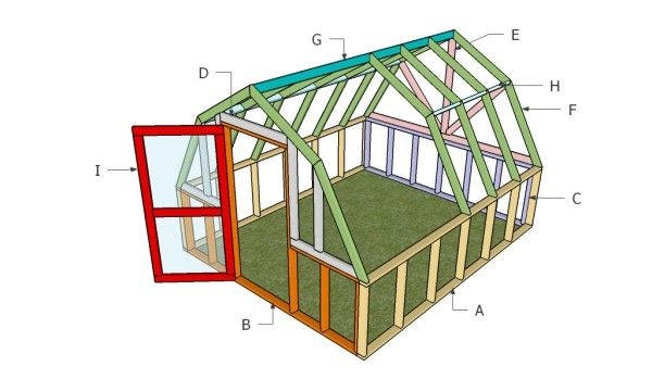 Barn greenhouse plans free outdoor plans diy shed for Greenhouse design plans