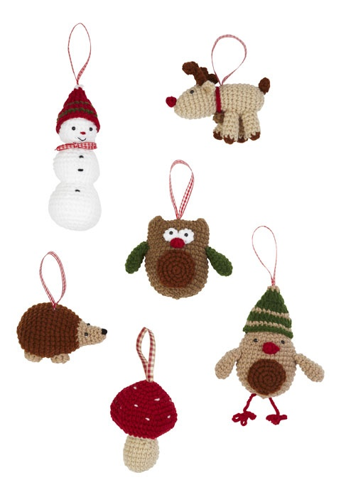 28 Best Images About A Knitted Christmas On Pinterest