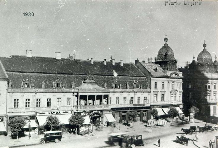 Corso in 1930 (Cluj/Kolozsvar)