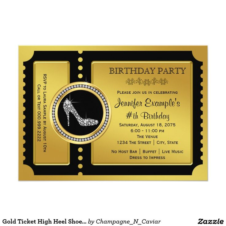 Best 25+ Gold ticket ideas on Pinterest Old hollywood party - prom tickets design