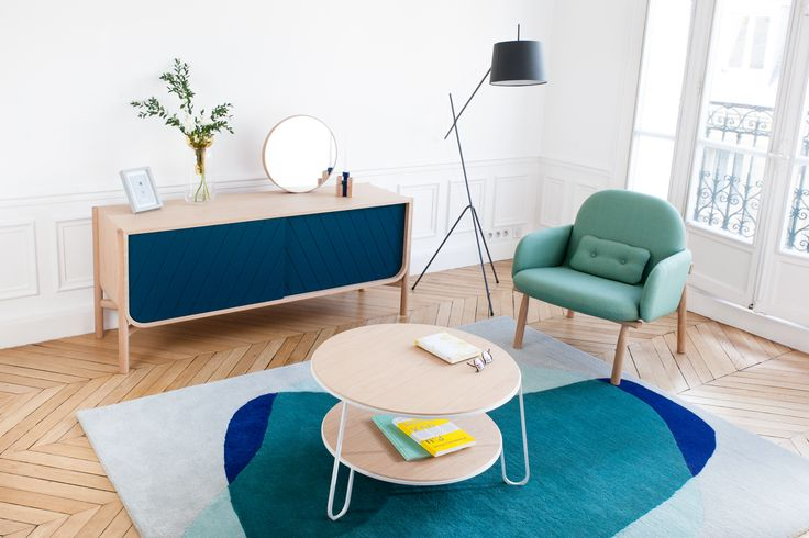 Armchair Georges, sideboard Marius and other products by HARTÔ