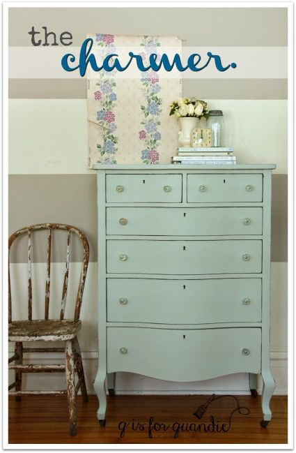 the charmer. Dresser painted in Fusion's Inglenook.