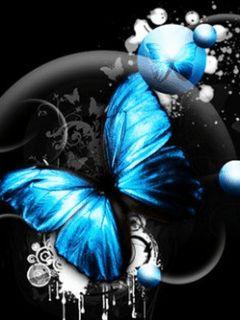 beautibul animation hearts   Pretty Butterflies,Animated