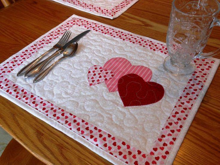 seasonal skinnies quilt patterns | Quilting: Seasonal Placemats: Set #1