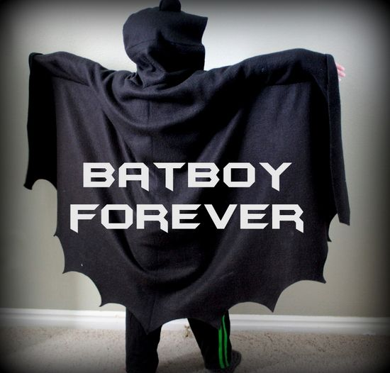 How to Make a Homemade Batman Costume for Kids | Vanilla Joy