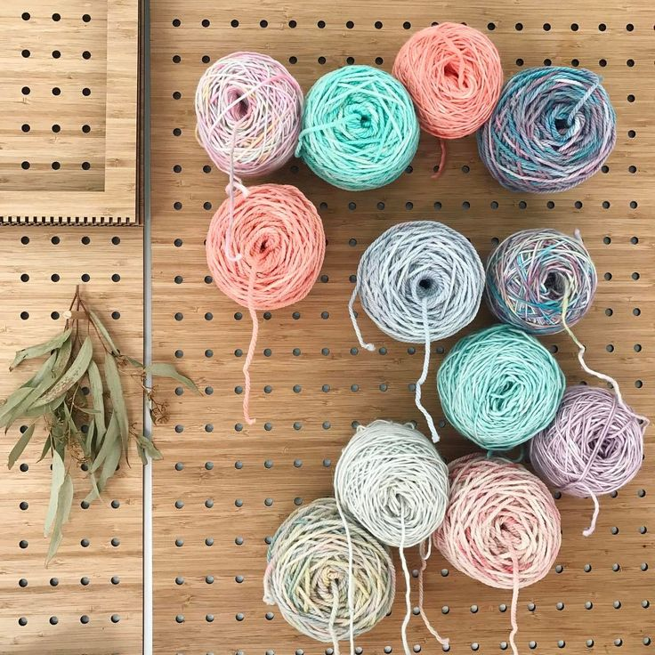 """402 Likes, 6 Comments - WEAVING & SPINNING KITS (@theunusualpear) on Instagram: """"Some freshly dyed yarn 👌🏼"""""""