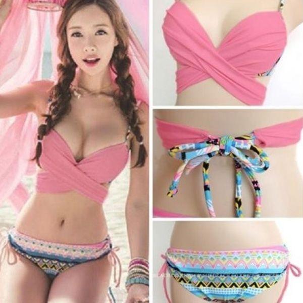 New Bikini Swimwear Sexy Bikini Set Push-up Padded Bra Swimsuit Bathing Suit Swimwears  B2C Shop #Affiliate