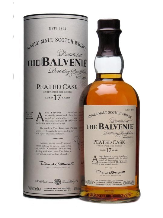 The Whisky Viking: Balvenie 17 yo (1993/2010), Peated Cask, 43 %