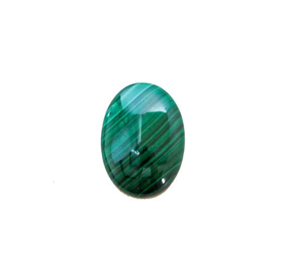 Malachite oval cabochon 27.30 carat by SARAHHUGHESfinegems on Etsy