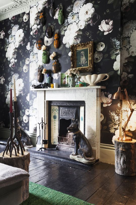 Design File  Big  Beautiful Bold Wallpaper Patterns that will Totally Make  the Room. 1210 best Wallpaper   Classic   elegant images on Pinterest