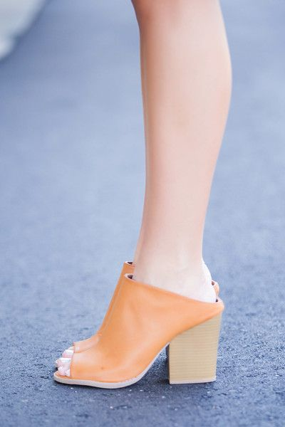 Such a fab comfy, on trend shoe! Slip these babies on with just about everything! -Approx heel height 3 in.
