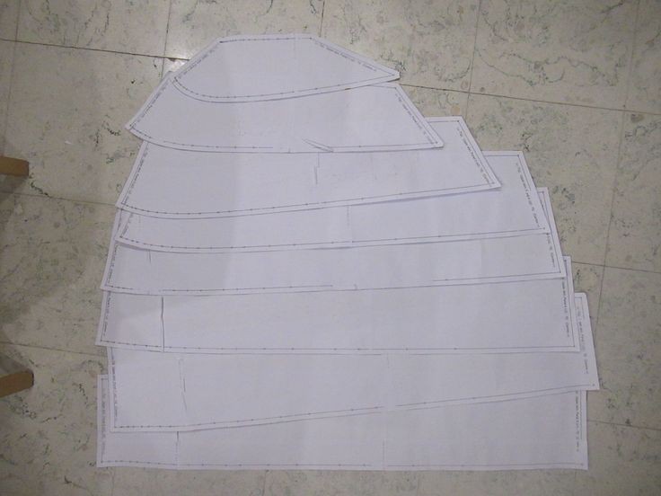 single skin kite, templates