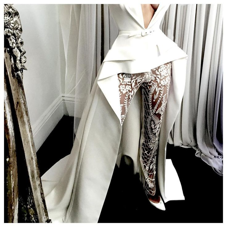 pantsuit perfection by J'Aton Couture