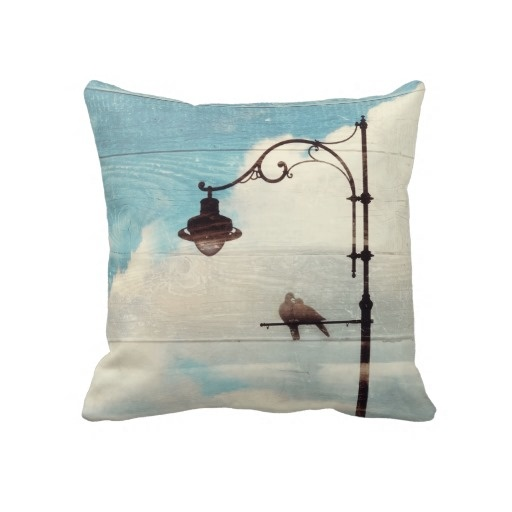 Turtle Doves - love and faithfulness Pillow