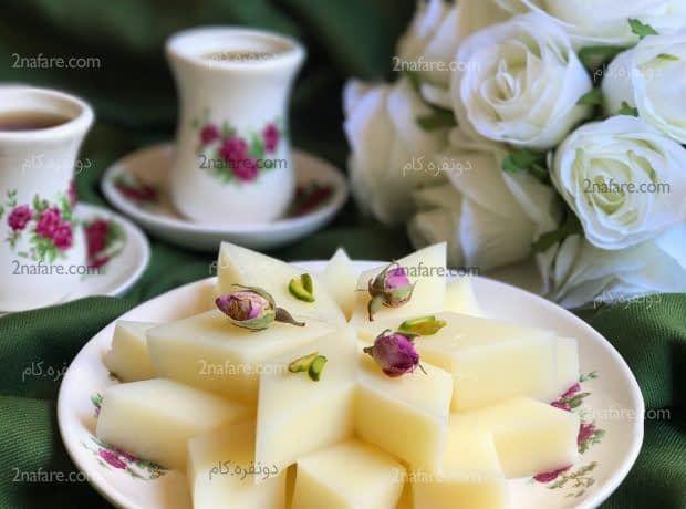 طرز تهیه مسقطی شیر مرحله به مرحله Persian Desserts Persian Food Food