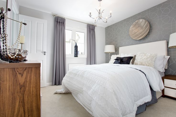 Subtle decoration in the bedroom of The Southwold at The Homelands in Bishops Cleeve | Bovis Homes