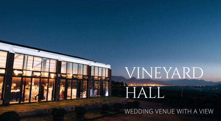 Reception Hall at  Bakenhof Winelands Venue Paarl, South Africa.