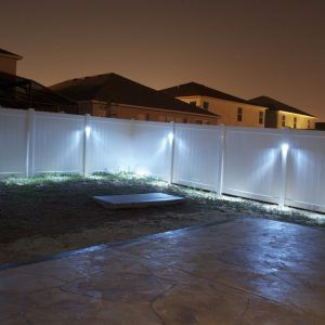 Best 25 Fence Lighting Ideas On Pinterest Privacy Fence