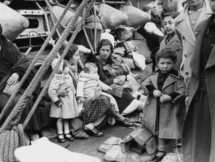 Spain - 1936-39. - GC - Refugiados de la Guerra Civil Española