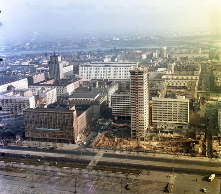 Warszawa, 1964r.  from fortepan.hu
