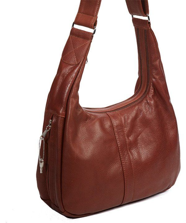 Coronado Leather Hobo Purse