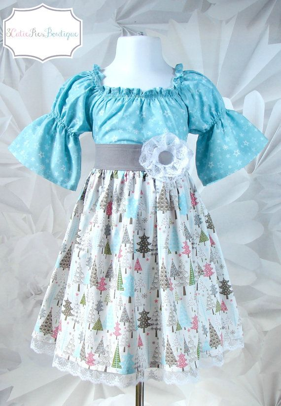I need to have a girl next... so I can sew her adorable dresses with fabric like this. LOVE <3