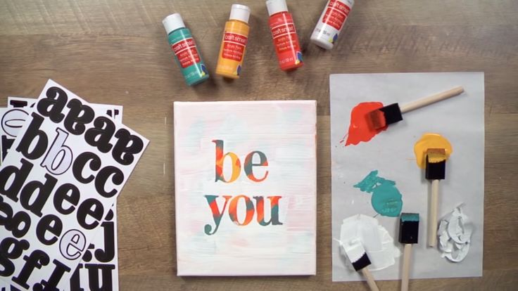Make Boho Letter Wall Decor