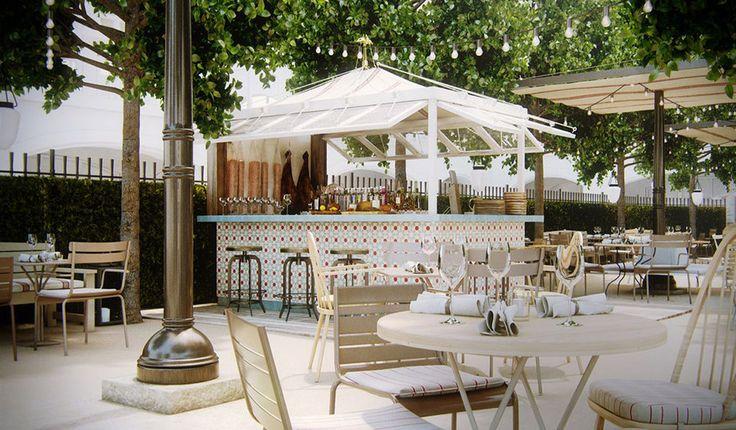 Ibérica, un restaurante español en Canary Wharf (Londres).