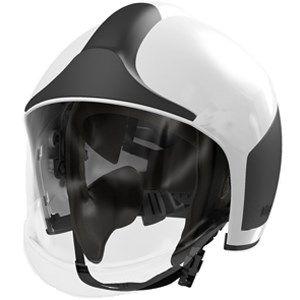 Casco bombero HPS 7000 N/B visor R79171