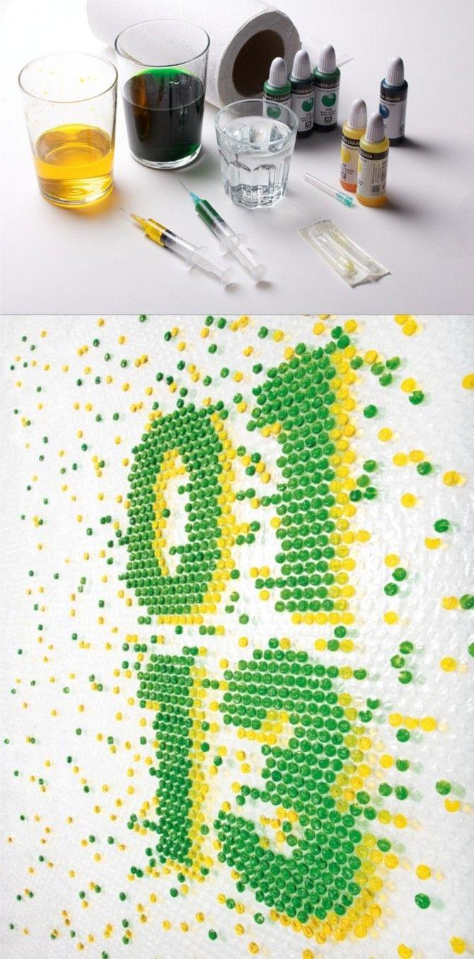 M s de 25 ideas incre bles sobre pintura de burbujas en pinterest arte de la burbuja - Alfombra plastico ikea ...