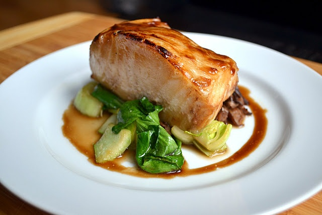 Brown Sugar Glazed Chilean Sea Bass --- Super easy and seriously loved it!