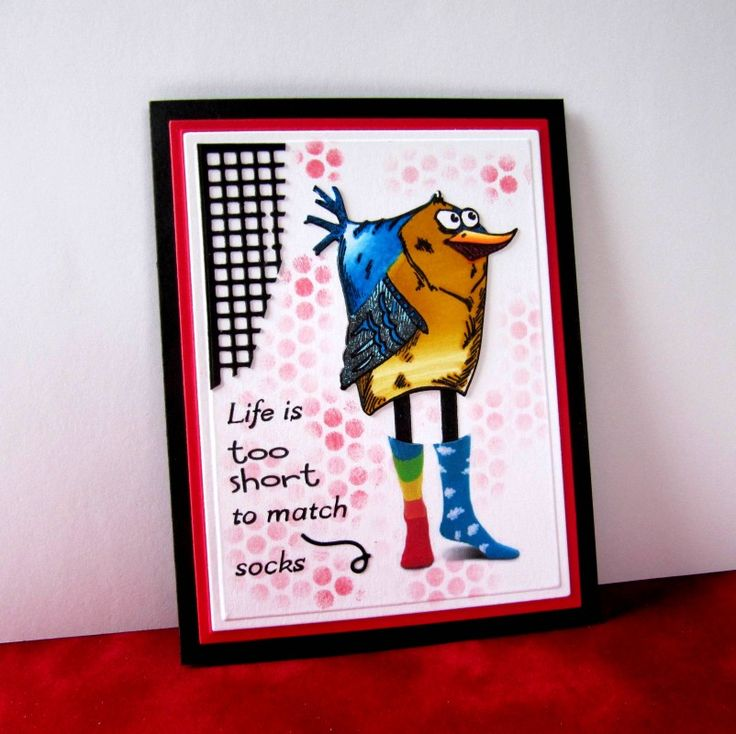 IC591 Life's Short by catluvr2 - Cards and Paper Crafts at Splitcoaststampers
