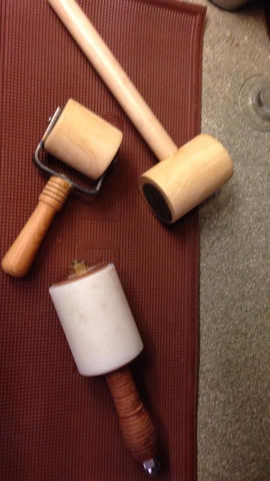 Rolling pins? and Mallets?