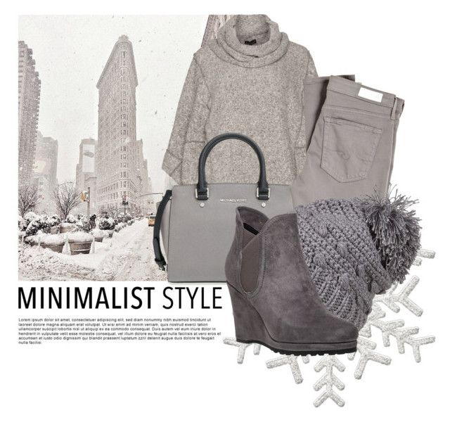 """Winter Minimalist"" by indigo-summer ❤ liked on Polyvore featuring moda, Bohème, MICHAEL Michael Kors, AG Adriano Goldschmied, prAna, VANELi y Minimaliststyle"