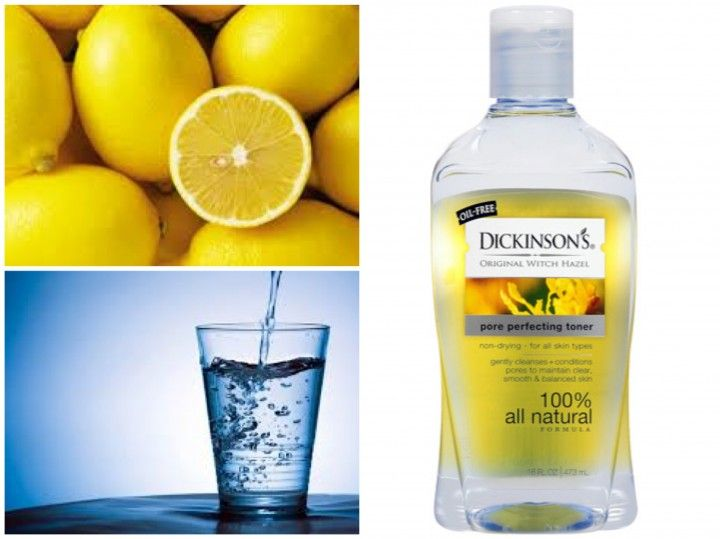 My FAVORITE toner for acne! DIY: Lightening And Brightening Lemon Toner