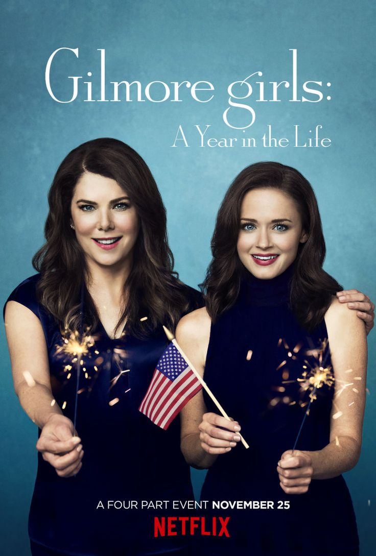 Cue freakout here s your exclusive sneak peek at the insanely perfect promo art for gilmore girls a year in the life