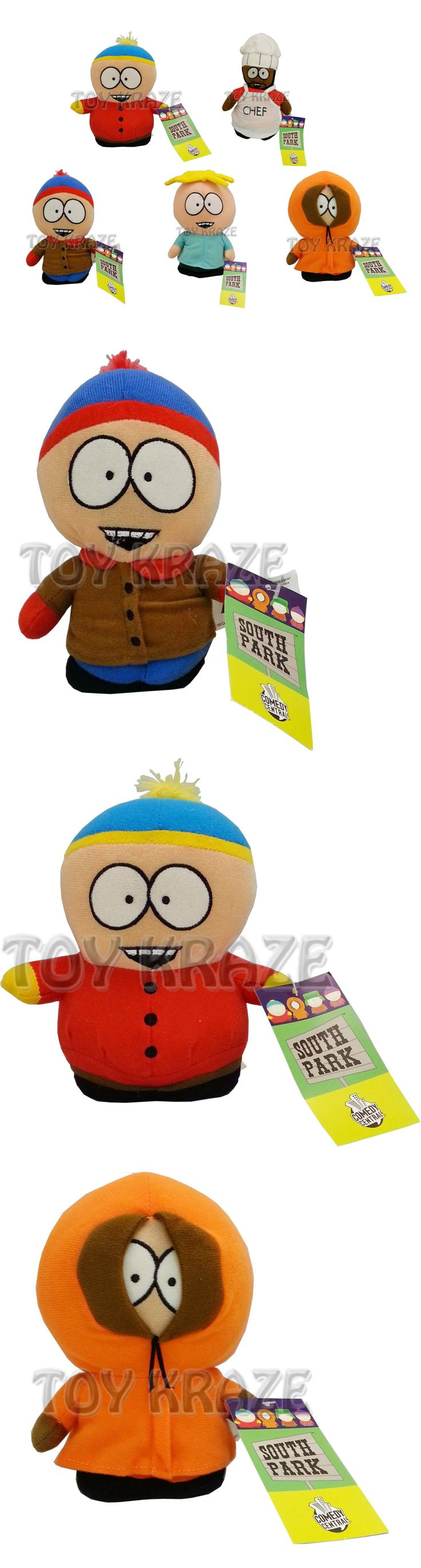 South Park 20918: South Park 5 Pc Plush Set! Butters Stan Kenny Cartman Chef Small Doll 6 -7 Nwt -> BUY IT NOW ONLY: $59.99 on eBay!