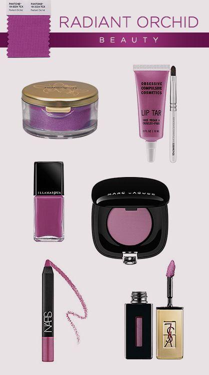 Pantone 2014: Radiant Orchid #Beauty #makeup