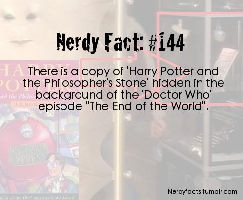 Doctor who nerdy facts - doctor-who Fan Art