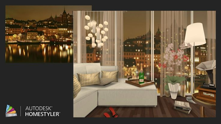 """Check out my #interiordesign """"Apartment in the port"""" from #Homestyler http://www.homestyler.com/designstream/redirector?id=a8775430-dcd5-4836-b625-f0ac5be1b7ef_type_1&track=ios_share"""