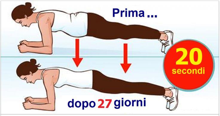 Fate quest'esercizio solo 4 minuti al giorno ed il risultato sarà evidente dopo 27 giorni! - Idee Geniali