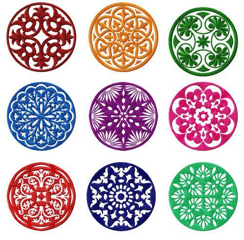 circle quilt blocks - Google Search