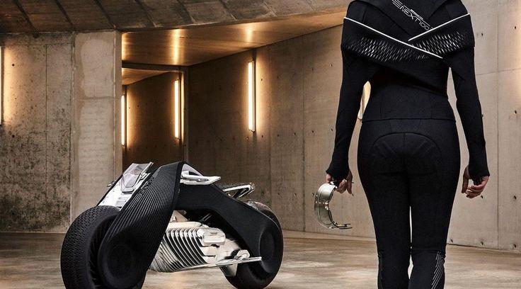 artikel tentang seputar teknologi sepanjang masa: Tak Perlu Pakai Helm, Seperti Ini Konsep Motor Mas...