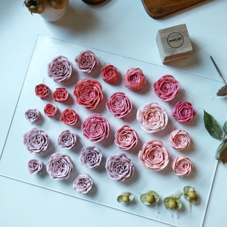 #nanacake #flowercake #buttercream #decorating #koreanstyle #wilton #buttercreamflowercake #kue #bunga #cakes #나나케이크 www.nanaflowercake.com