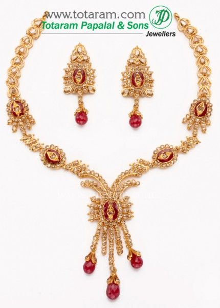 The 25 best Indian gold jewellery ideas on Pinterest