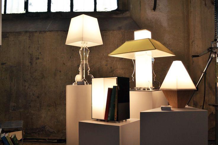 le nostre lampade al v-market festival